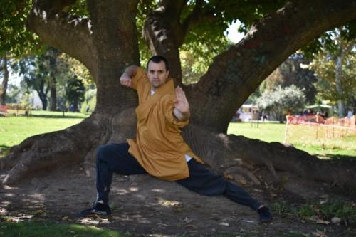 Entrenando Kung Fu en Bs. As.