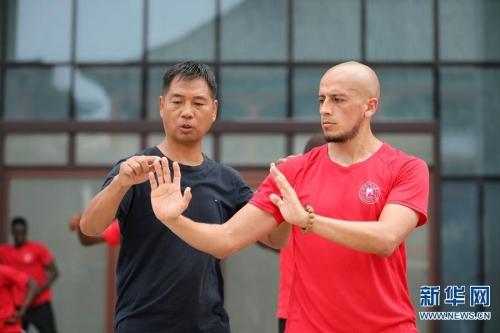 Maestro Zhang Fuwang, en Chenjiagou