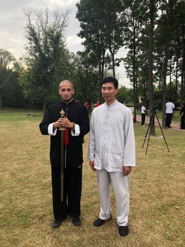 Maestro Chen Bing, en Yanling, Henan, China