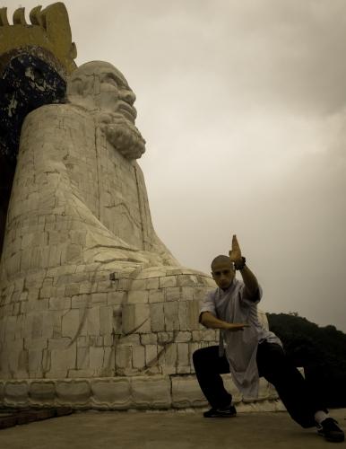 Junto a Bodhidharma, Monte de los cinco animales, Wuru