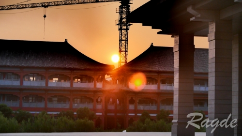 Atardecer en Chenjiagou